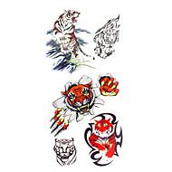 Временные тату Тату с животными С рисунком Нижняя часть спины Waterproof Женский Мужской Подростки Вспышка татуировки Временные татуировки
