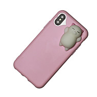For iPhone X iPhone 8 iPhone 8 Plus Case Cover Squishy Back Cover Case 3D Cartoon Soft TPU for Apple iPhone X iPhone 8 Plus iPhone 8