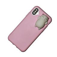 Para iPhone X iPhone 8 iPhone 8 Plus Carcasa Funda Blando Cubierta Trasera Funda Dibujo 3D Suave TPU para Apple iPhone X iPhone 8 Plus