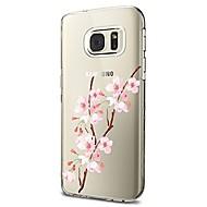Etui Til Samsung Galaxy S8 Plus S8 Transparent Mønster Bagcover Blomst Blødt TPU for S8 S8 Plus S7 edge S7 S6 edge plus S6 edge S6 S6