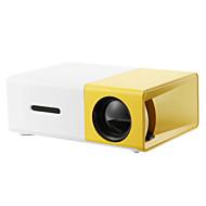 จอ LCD โปรเจคเตอร์ขนาดเล็ก นาฬิกา LED Projector 2000 lm สนับสนุน SVGA (800x600) 20 inch จอภาพ / HVGA (480x320) / ±15°