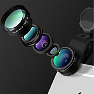 Lentilles caméra smartphone iyang Objectif grand angle 0.65x Lentille macro 10x Lentille fish-eye Lentille focale longue cpl pour ipad