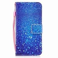 Недорогие Чехлы и кейсы для Galaxy S8-Кейс для Назначение SSamsung Galaxy S8 Plus S8 Бумажник для карт Кошелек Флип Магнитный С узором Чехол Пейзаж Сияние и блеск Твердый Кожа