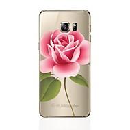 voordelige Galaxy S4 Hoesjes / covers-hoesje Voor Samsung Galaxy S8 Plus S8 Transparant Patroon Achterkantje Bloem Zacht TPU voor S8 Plus S8 S7 edge S7 S6 edge plus S6 edge S6