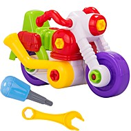 tanie Zabawki & hobby-Samochodziki do zabawy Klocki Motocykle do zabawy Motor Zabawki Motocykl DIY Tworzywa sztuczne Sztuk