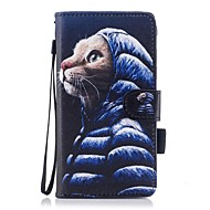 Case For Samsung Galaxy J7 (2017) J3 (2017) Wallet Card Holder with Stand Flip Magnetic Pattern Full Body Cat Hard PU Leather for J5