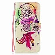 Кейс для Назначение SSamsung Galaxy S8 Plus S8 Кошелек Бумажник для карт Флип С узором Магнитный Чехол Ловец снов Твердый Искусственная