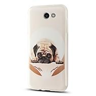olcso Galaxy J1 tokok-Case Kompatibilitás Samsung Galaxy J7 (2017) J3 (2017) Minta Hátlap Kutya Puha TPU mert J7 (2017) J7 V J7 Perx J7 (2016) J7 J5 (2017) J5