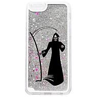 Назначение iPhone 7 iPhone 7 Plus Чехлы панели Движущаяся жидкость С узором Задняя крышка Кейс для Сияние и блеск Halloween Твердый PC для