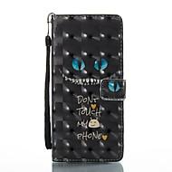 Недорогие Чехлы и кейсы для Galaxy Note-Кейс для Назначение SSamsung Galaxy Note 8 Бумажник для карт Кошелек со стендом Флип Магнитный С узором Чехол Слова / выражения Твердый