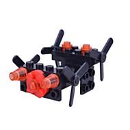 billige Legetøj og hobbyartikler-Byggeklodser Simple Flyvemaskine Helikopter Børne Gave