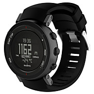 Недорогие Аксессуары для смарт часов-для suunto core alu black multisport gps watch замена силиконовый браслет для ремня