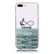 Назначение iPhone X iPhone 8 Чехлы панели С узором Задняя крышка Кейс для анкер Мягкий Термопластик для Apple iPhone X iPhone 8 Plus