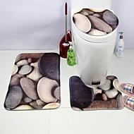 abordables Alfombras y moquetas-1pc Esteras de Baño Contemporáneo Baño Fácil de limpiar