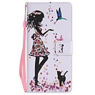 Кейс для Назначение SSamsung Galaxy Note 8 Кошелек Бумажник для карт со стендом Флип С узором Магнитный Чехол Соблазнительная девушка