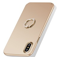 Недорогие Кейсы для iPhone 8-Кейс для Назначение Apple iPhone X iPhone X iPhone 8 iPhone 8 Plus Защита от удара Кольца-держатели Ультратонкий Кейс на заднюю панель