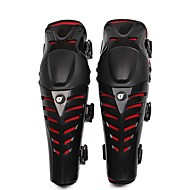 お買い得  -HEROBIKER MK1001R 膝パッド オートバイの保護装置 フリーサイズ 大人 硬質プラスチック