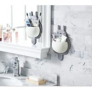 お買い得  浴室用小物-歯ブラシホルダー プラスチック 1枚 - ホテルバス