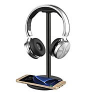 cheap Headsets & Headphones-Headphone Headset Stand / Hanger / Holder / Mount with QI Wireless Charging for Samsung Galaxy S7 /S7 EdgeS6 / S6 EdgeNote 5 Nexus 7/5/4 Nokia Lumia