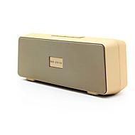 preiswerte Lautsprecher-NR-2010 Bluetooth Bluetooth 3.0 3.5 mm AUX Subwoofer Gold Schwarz Silber Purpur Hellblau