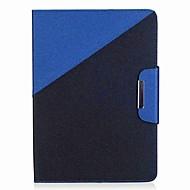 お買い得  タブレット用アクセサリー-ケース 用途 Samsung Galaxy / タブ9.7 フルボディーケース / タブレットケース カラーブロック / 風景 ハード PUレザー のために