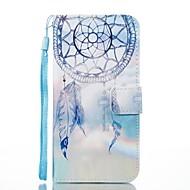 Недорогие Чехлы и кейсы для Galaxy J5(2017)-Кейс для Назначение SSamsung Galaxy Бумажник для карт Кошелек со стендом Флип Магнитный С узором Чехол Ловец снов Твердый Кожа PU для J7