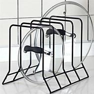 お買い得  収納&整理-1個 ポットリッドホルダー 金属 使いやすい キッチン組織