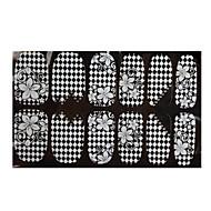 nail art sticker lace sticker maquillaje cosmético nail art design