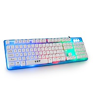 Office Home Game Keyboard Cable Mute Waterproof External Lovely Color all USB