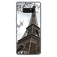 Кейс для Назначение С узором Задняя крышка Эйфелева башня Мягкий TPU для Note 8 Note 5 Edge Note 5 Note 4 Note 3 Lite Note 3 Note 2 Note