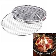 olcso -1db grillező grillsütő rozsdamentes acél csere háló drótháló kültéri szakács piknik