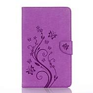 تنقش نمط حامل البطاقة مع حامل المغناطيسي بو محفظة جلدية حالة بطاقة حقيبة مع نمط لسامسونج غالاكسي تبويب e 8.0 t377 t377v 8.0 بوصة قرص