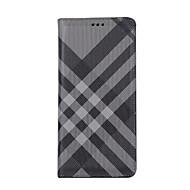 Недорогие Чехлы и кейсы для Galaxy Note 8-Кейс для Назначение SSamsung Galaxy Note 8 Бумажник для карт Кошелек со стендом Флип Чехол Полосы / волосы Мягкий Кожа PU для Note 8