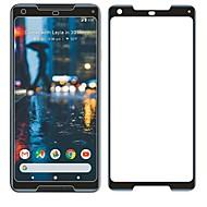tanie Folie ochronne-Screen Protector na Google Pixel 2 XL Szkło hartowane 1 szt. Folia ochronna ekranu Twardość 9H Odporne na zadrapania 3D zaokrąglone rogi