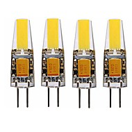 4W G4 LED Corn Lights T 1 Integrate LED 250-300 lm Warm White Cold White 3000-3500 6000-6500K K Waterproof Decorative AC 12 DC 12 V