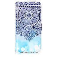 Кейс для Назначение SSamsung Galaxy S8 Plus S8 Кошелек Бумажник для карт со стендом Флип С узором Чехол Мандала Твердый Искусственная кожа