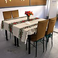 pöytäliinoja, 100% polyesteriä, joulupukki& ruokailu
