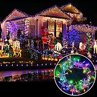 お買い得  -brelong 6.5w 100 ledカーテンライト/ /結婚式/パーティーの背景装飾ライト/ファミリーガーデン/(10m / eu)1pcs