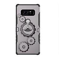 Недорогие Чехлы и кейсы для Galaxy Note 8-Кейс для Назначение Note 8 Защита от удара со стендом Чехол броня Твердый Силикон для Note 8