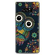 お買い得  Galaxy Note 2 ケース / カバー-ケース 用途 Samsung Galaxy パターン バックカバー フクロウ ソフト TPU のために Note 8 Note 5 Edge Note 5 Note 4 Note 3 Lite Note 3 Note 2 Note Edge Note