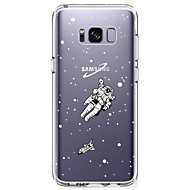 billige Galaxy S5 Mini Etuier-Etui Til Samsung Galaxy S8 Plus S8 Ultratyndt Transparent Mønster Bagcover Himmel Blødt TPU for S8 Plus S8 S7 edge S7 S6 edge plus S6