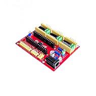 お買い得  Arduino 用アクセサリー-新製品cncシールドv4彫刻機キット拡張ボード