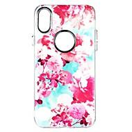 для крышки случая противоударная задняя крышка случая цветка мягкая tpu для яблока iphone x iphone 8 плюс iphone 8 iphone 7 плюс iphone 7