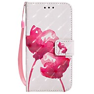 cheap Apple Accessories-Case For Apple iPhone X iPhone 8 Plus Card Holder Wallet with Stand Flip Magnetic Pattern Full Body Cases Flower Hard PU Leather for