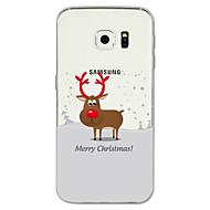 tok Για Samsung Galaxy S8 Plus S8 Με σχέδια Πίσω Κάλυμμα Χριστούγεννα Μαλακή TPU για S8 S8 Plus S7 edge S7 S6 edge plus S6 edge S6