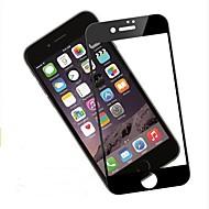 Недорогие Защитные плёнки для экрана iPhone-Защитная плёнка для экрана Apple для iPhone 8 Закаленное стекло 2 штs Защитная пленка на всё устройство 3D закругленные углы Антибликовое