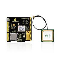 お買い得  Arduino用アクセサリー-keyestudio gpsシールド、sdスロットアンテナ、arduino uno r3用