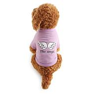 levne Denní akce-Pes Trička Oblečení pro psy Prodyšné dopis a číslo Kostým Pro domácí mazlíčky
