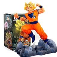 저렴한 -애니메이션 액션 피규어 에서 영감을 받다 드레곤볼 Goku 10 CM 모델 완구 인형 장난감