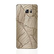 olcso Galaxy S7 tokok-Case Kompatibilitás Samsung Galaxy S8 Plus S8 Minta Fekete tok Vonalak / hullámok Puha TPU mert S8 Plus S8 S7 edge S7 S6 edge plus S6